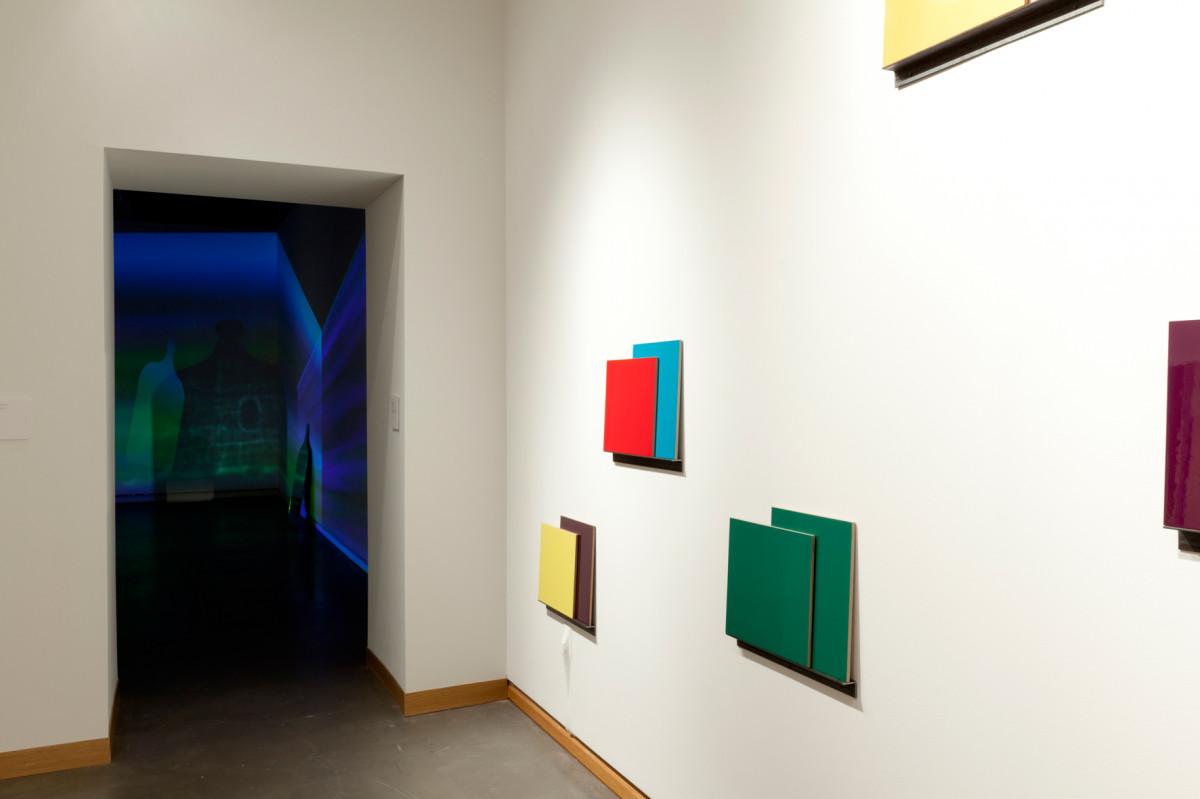 Installation by Hennie Ann Isdahl and video installation