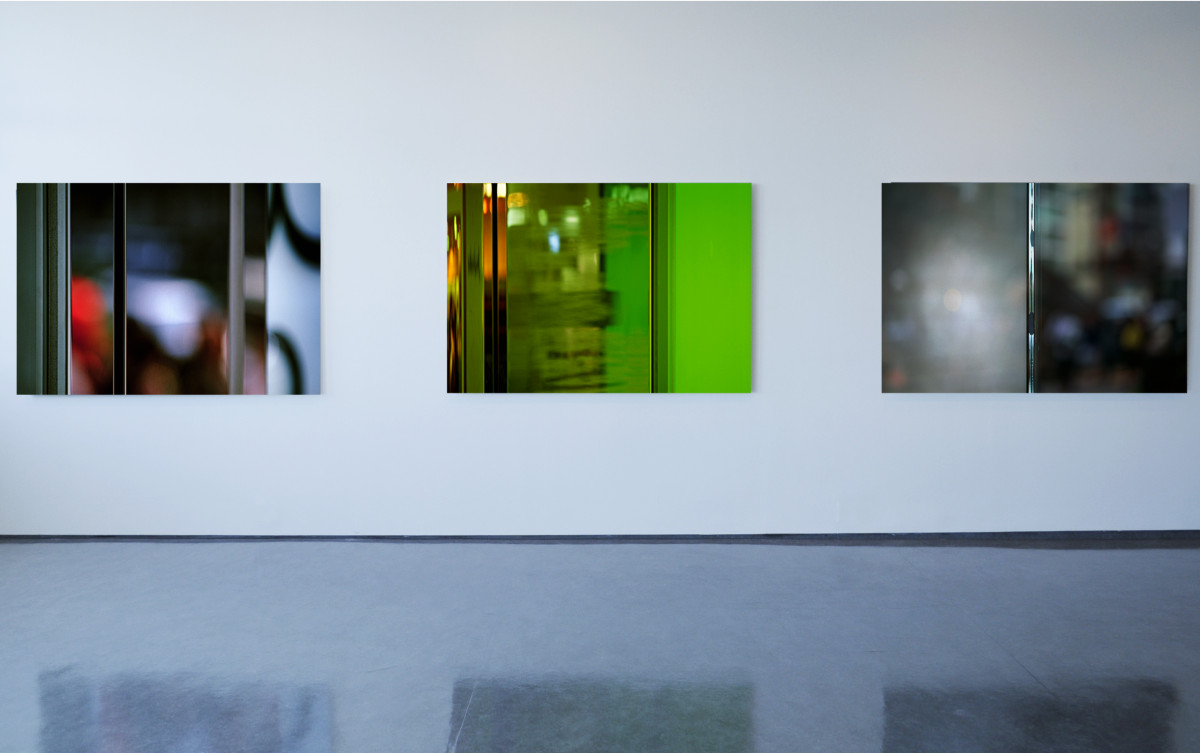 Photography; 100x150 cm: Tokyo #18, Tokyo #14 and Aoyama #02