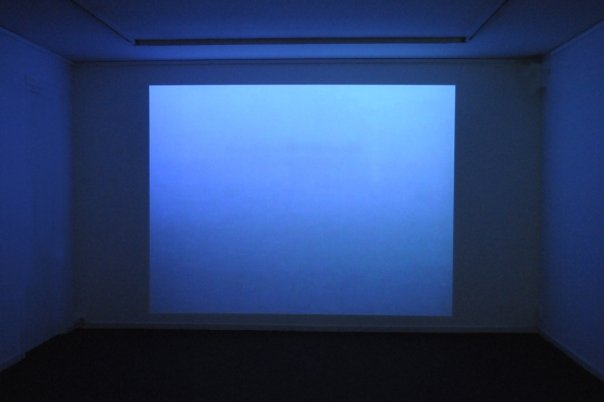 Video; MIST, 5 min. 2007. Music Arve Henriksen.<br /> The landscape has almost disappeared in fog. There are birds and small objects floating by.