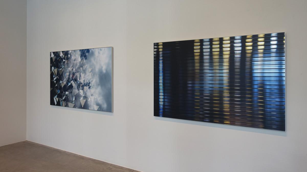 Chicago #01 og Miami #01. 100x150 cm