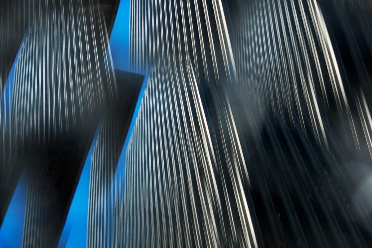Dissolved San Fransisco #01. Size 100x150 cm. Photo on brushed aluminum. 2020