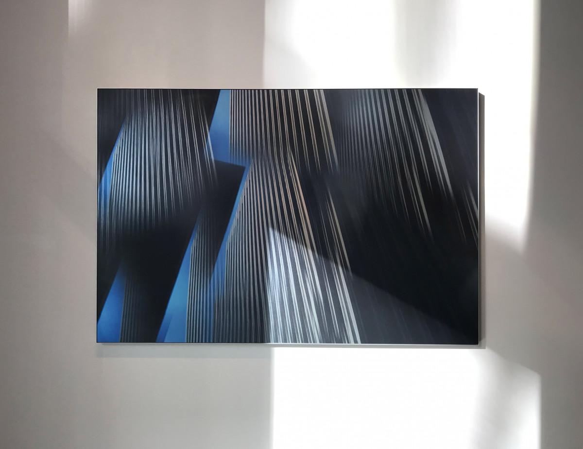 Dissolved San Fransisco 01. Size 100x150 cm. Photo on brushed aluminum.