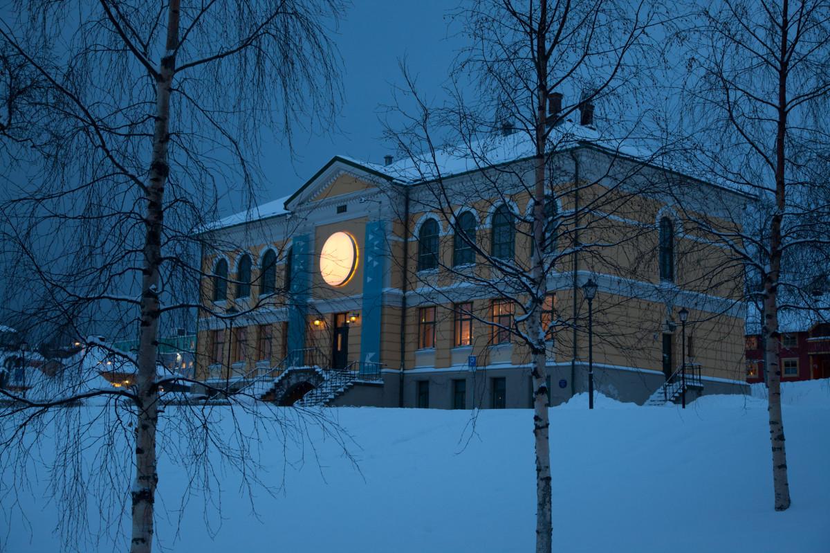 Tromsø Art Hall 2012-13. Photo by J. M. Johnsen