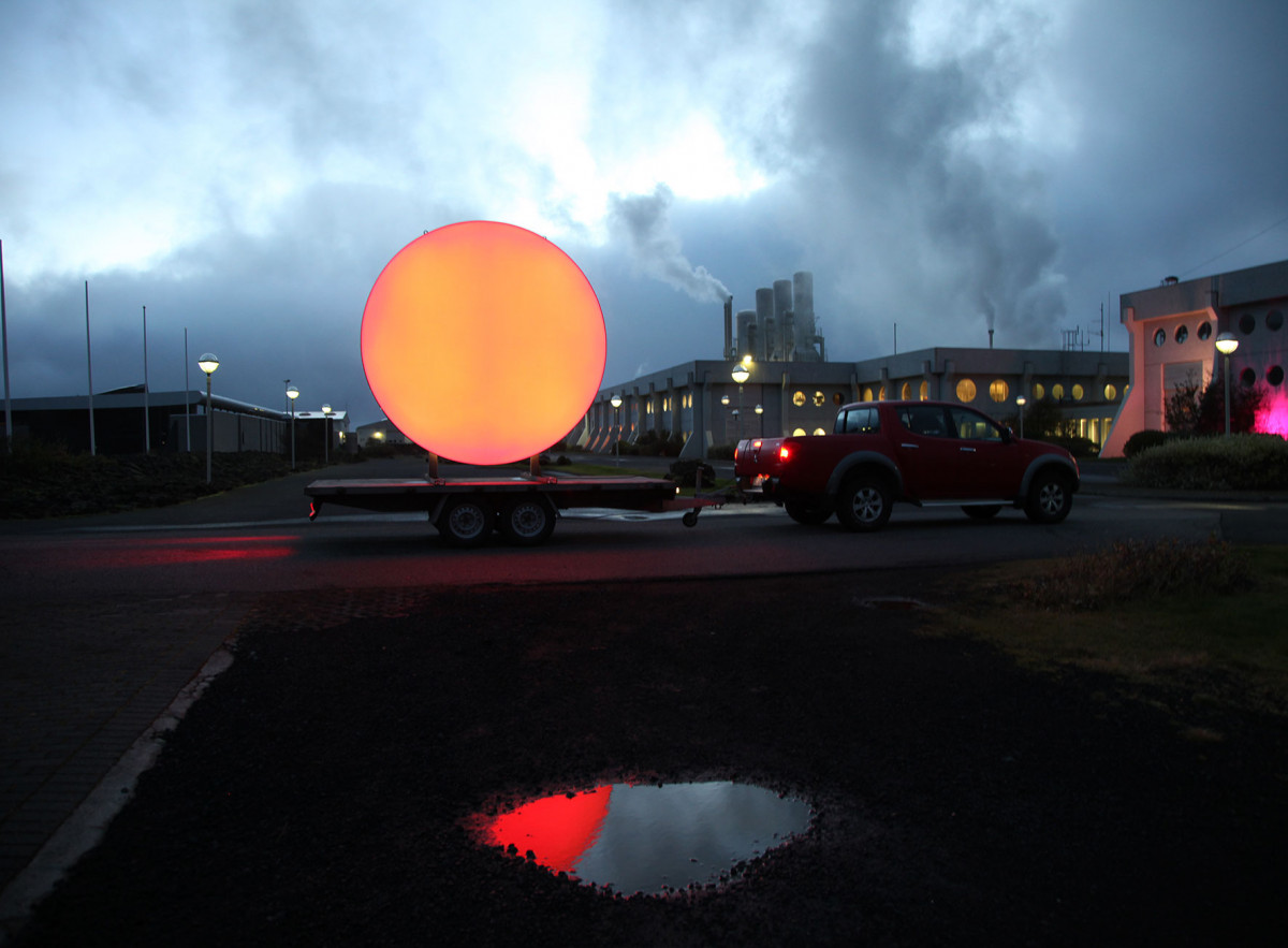 Traveling SUN in Iceland 2015